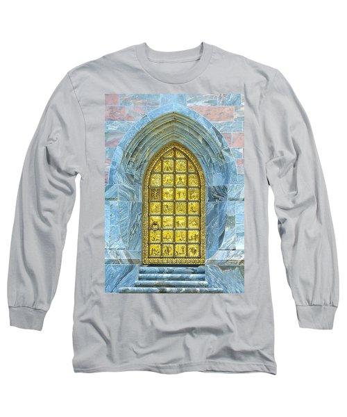Bok Tower Entrance  Long Sleeve T-Shirt