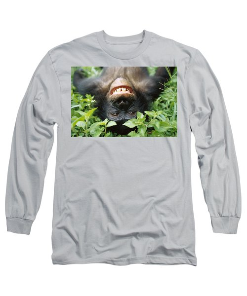 Bonobo Smiling Long Sleeve T-Shirt