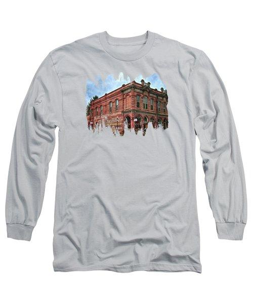 Boomtown Saloon Jacksonville Oregon Usa Long Sleeve T-Shirt