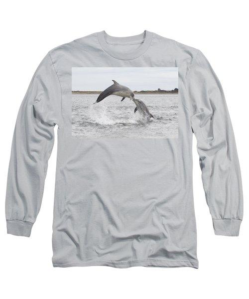 Bottlenose Dolphins - Scotland #1 Long Sleeve T-Shirt