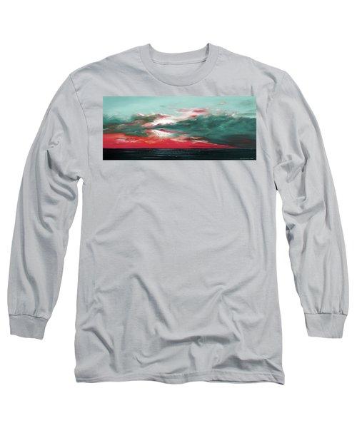 Bound Of Glory - Panoramic Sunset  Long Sleeve T-Shirt