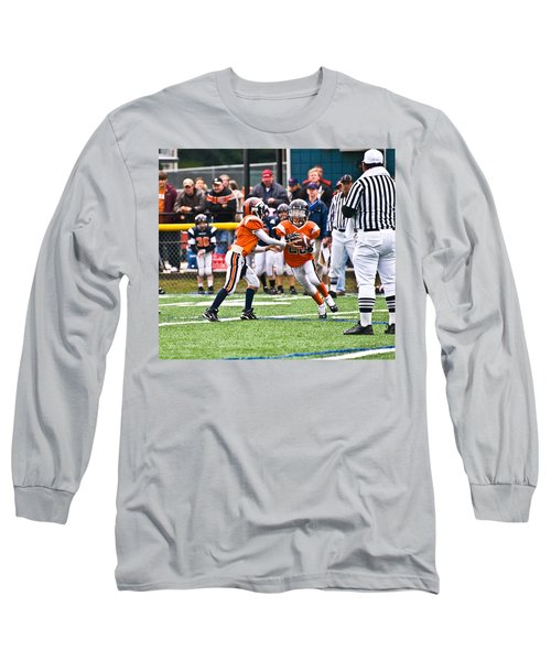 Boys Football Long Sleeve T-Shirt