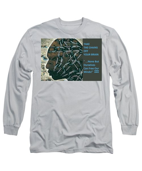 Brain Chains Long Sleeve T-Shirt