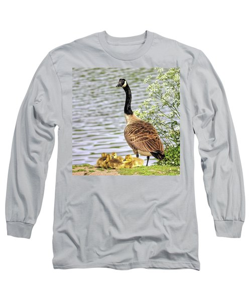 Branta Canadensis  #canadagoose Long Sleeve T-Shirt