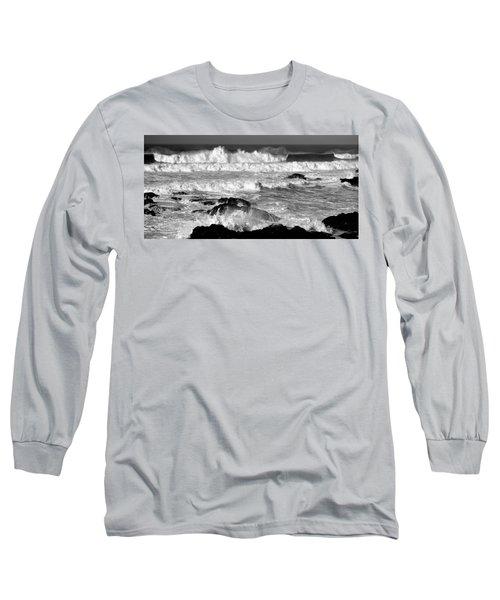 Breakers Long Sleeve T-Shirt by Nick Kloepping