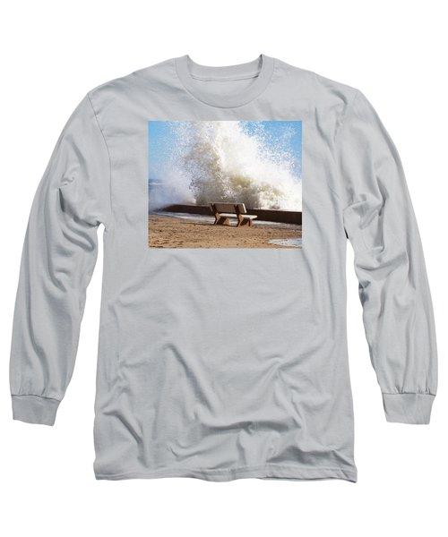 Breaking Wave Long Sleeve T-Shirt