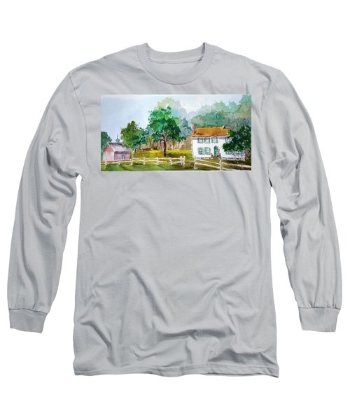 Brecknock Park Long Sleeve T-Shirt by Larry Hamilton