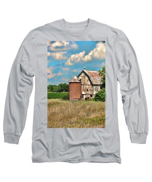 Brick Silo Long Sleeve T-Shirt by Trey Foerster