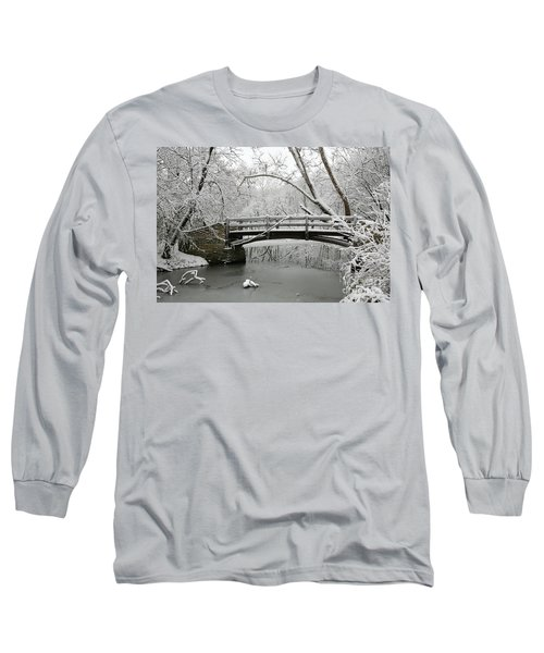 Bridge In Winter Long Sleeve T-Shirt