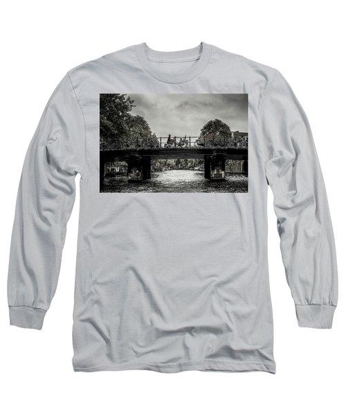 Bridge Over Still Water Long Sleeve T-Shirt