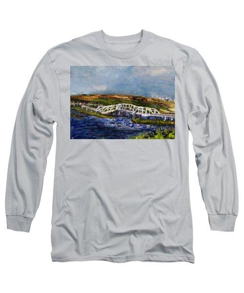 Bridge Over The Marsh Long Sleeve T-Shirt