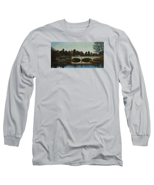 Bridges Of Forest Park Iv Long Sleeve T-Shirt by Michael Frank