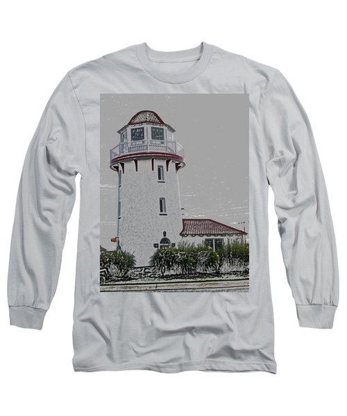 Brigantine Lighthouse Long Sleeve T-Shirt