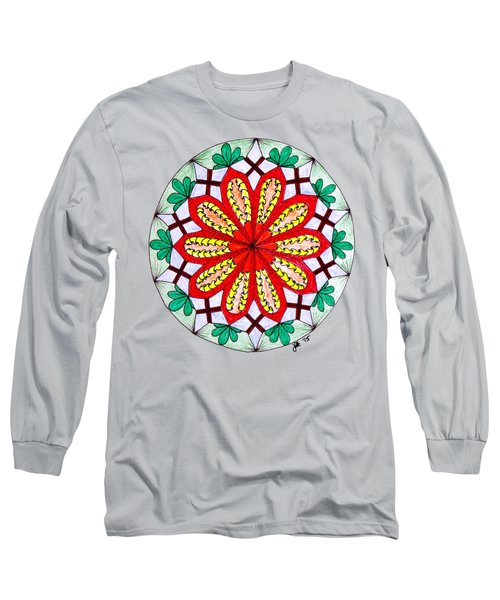 Bright Flower Long Sleeve T-Shirt