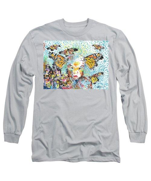 Bring Her Home Safely, Morelia- Sombra De Arreguin Long Sleeve T-Shirt