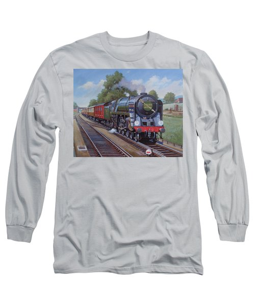 Britannia Pacific On The Golden Arrow. Long Sleeve T-Shirt by Mike  Jeffries