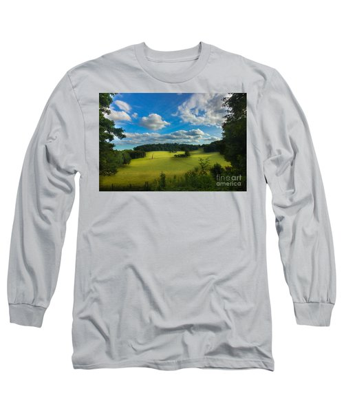 British Countryside Long Sleeve T-Shirt