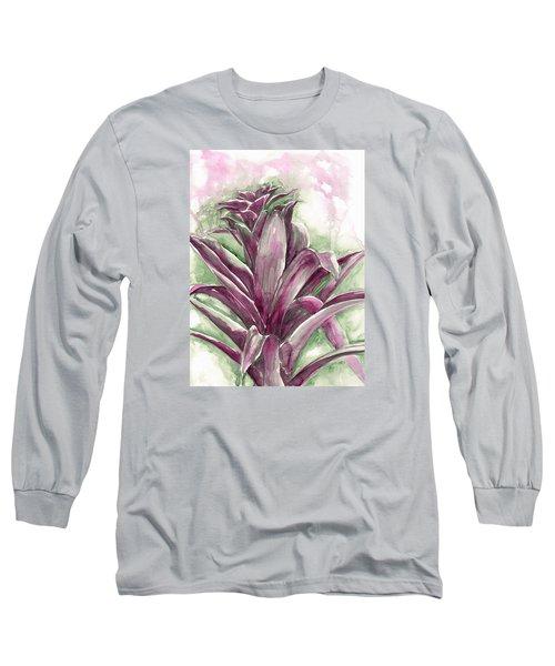 Bromeliad Long Sleeve T-Shirt by Ashley Kujan