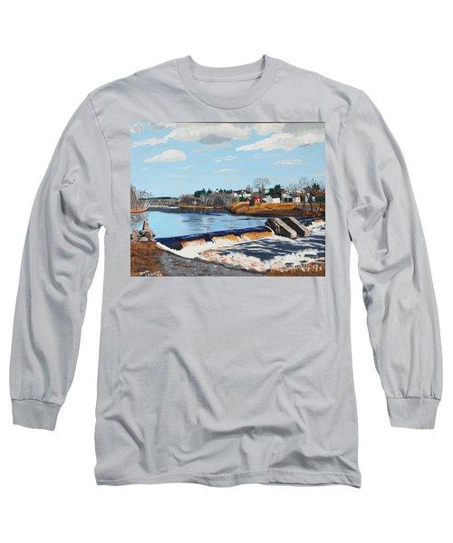 Brownville Village Dam Long Sleeve T-Shirt