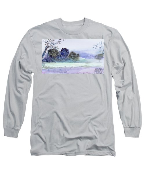 Bruny Island At Dusk Long Sleeve T-Shirt