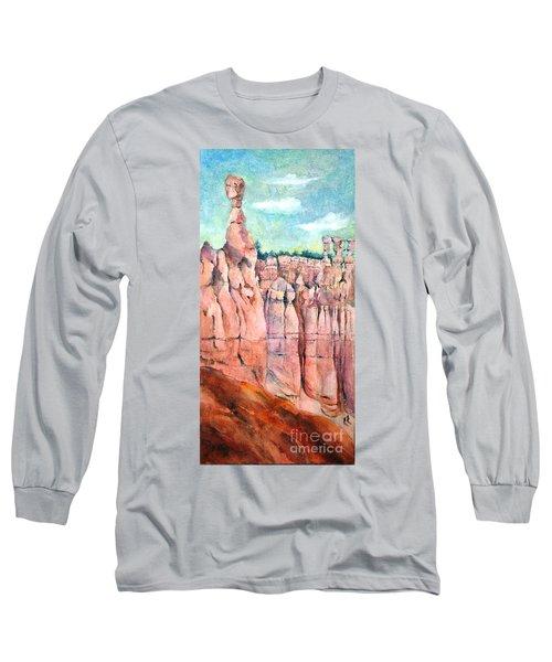 Bryce Canyon #1  Long Sleeve T-Shirt by Betty M M Wong