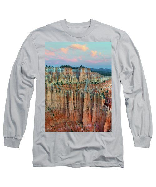 Bryce Canyon Long Sleeve T-Shirt by Tim Fitzharris