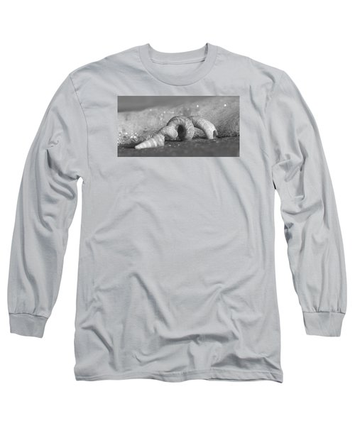 Bubble Bath Long Sleeve T-Shirt by Sean Allen
