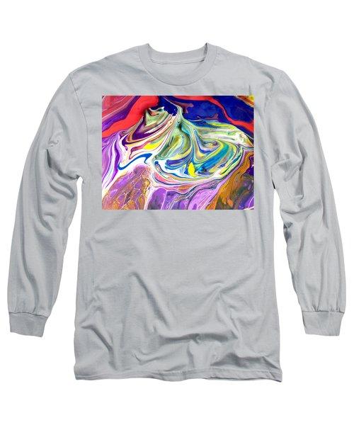 Bubble Gum Ice Cream Long Sleeve T-Shirt