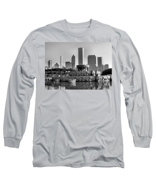 Buckingham Fountain - 2 Long Sleeve T-Shirt