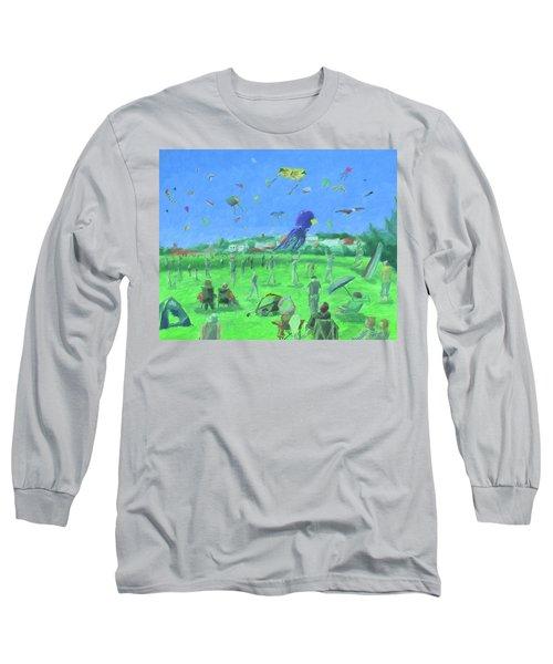 Bug Light Kite Festival Long Sleeve T-Shirt