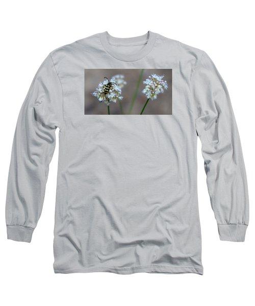 Bug On Flower Long Sleeve T-Shirt