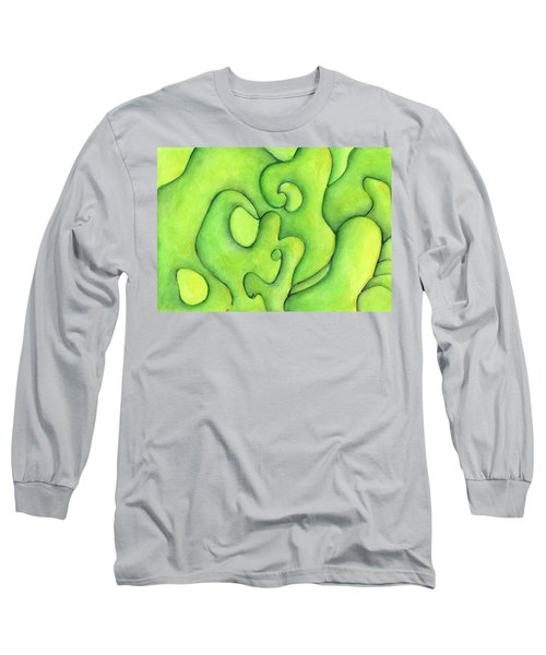 Bulbs Flowing  Long Sleeve T-Shirt by Versel Reid
