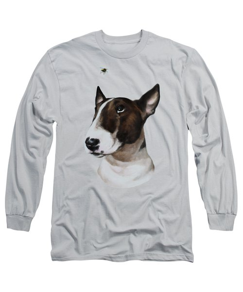 Bully And Bee Long Sleeve T-Shirt by Jindra Noewi