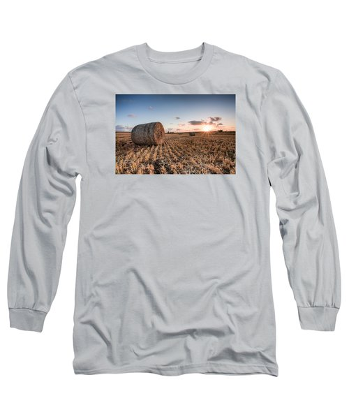 Bundy Hay Bales #5 Long Sleeve T-Shirt