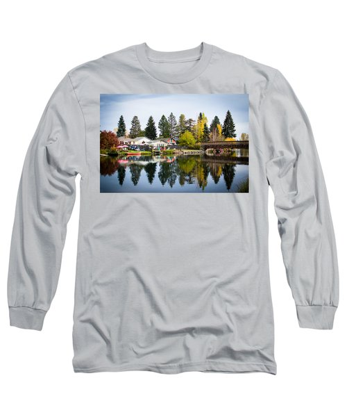 bungalows on the Deschutes Long Sleeve T-Shirt