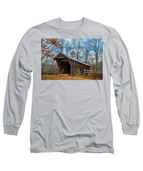 Bunker Hill Cvered Bridge Long Sleeve T-Shirt