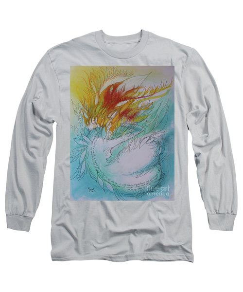 Burning Thoughts Long Sleeve T-Shirt by Marat Essex