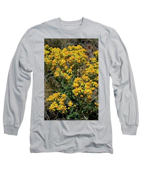 Burst Of Yellow Long Sleeve T-Shirt