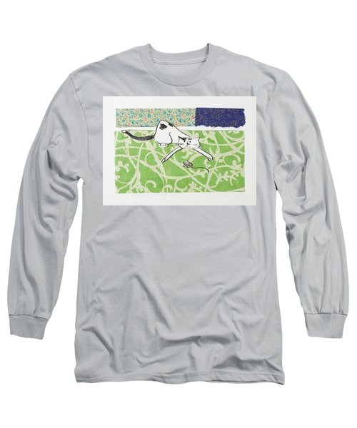 But We Were Just Starting To Have Fun Long Sleeve T-Shirt by Leela Payne