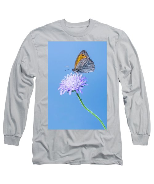 Butterfly Long Sleeve T-Shirt by Jaroslaw Grudzinski