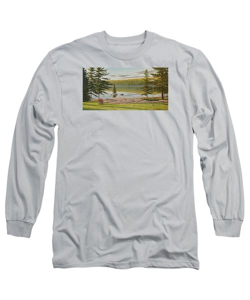 By The Lakeside Long Sleeve T-Shirt