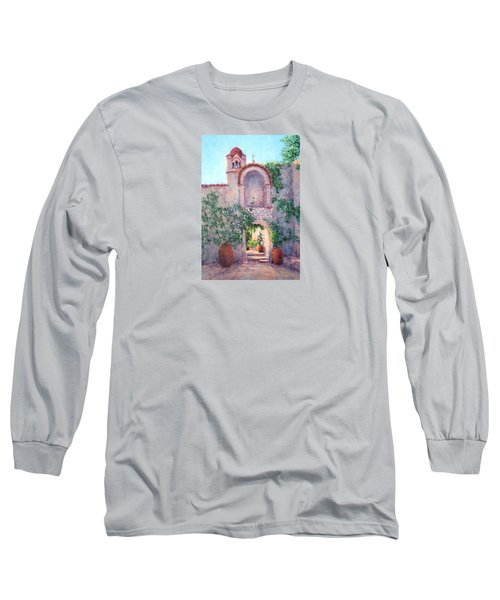 Byzantine Archway Long Sleeve T-Shirt by Jill Musser