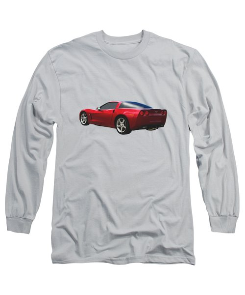 C-6 Corvette And The Cosmos Long Sleeve T-Shirt
