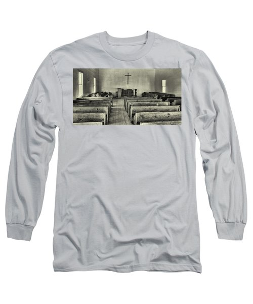 Cades Cove Methodist Church Long Sleeve T-Shirt
