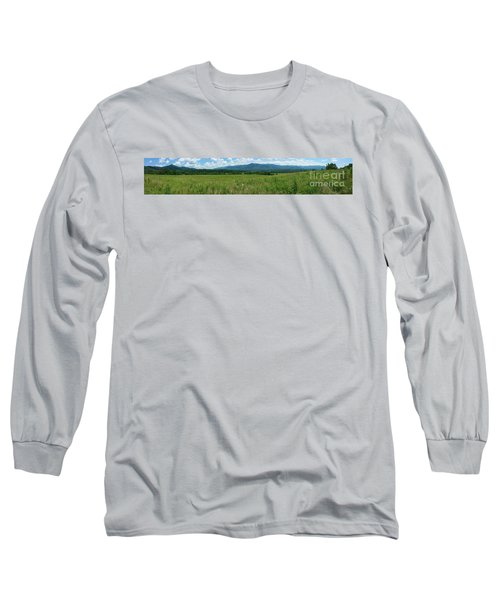 Long Sleeve T-Shirt featuring the photograph Cades Valley by Geraldine DeBoer