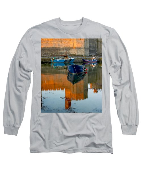Caernarfon Reflections Long Sleeve T-Shirt