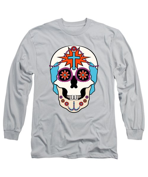 Calavera Graphic Long Sleeve T-Shirt by MM Anderson