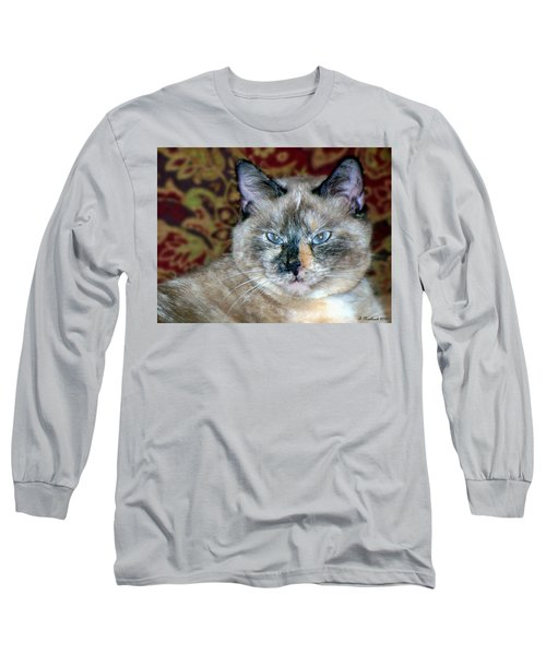 Long Sleeve T-Shirt featuring the photograph Cali-mese by Betty Northcutt