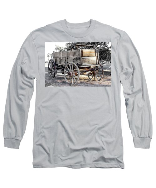 California Farm Wagon Long Sleeve T-Shirt