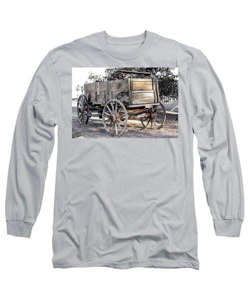 California Farm Wagon Long Sleeve T-Shirt